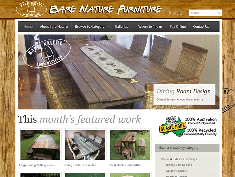 Bare Nature Furniture